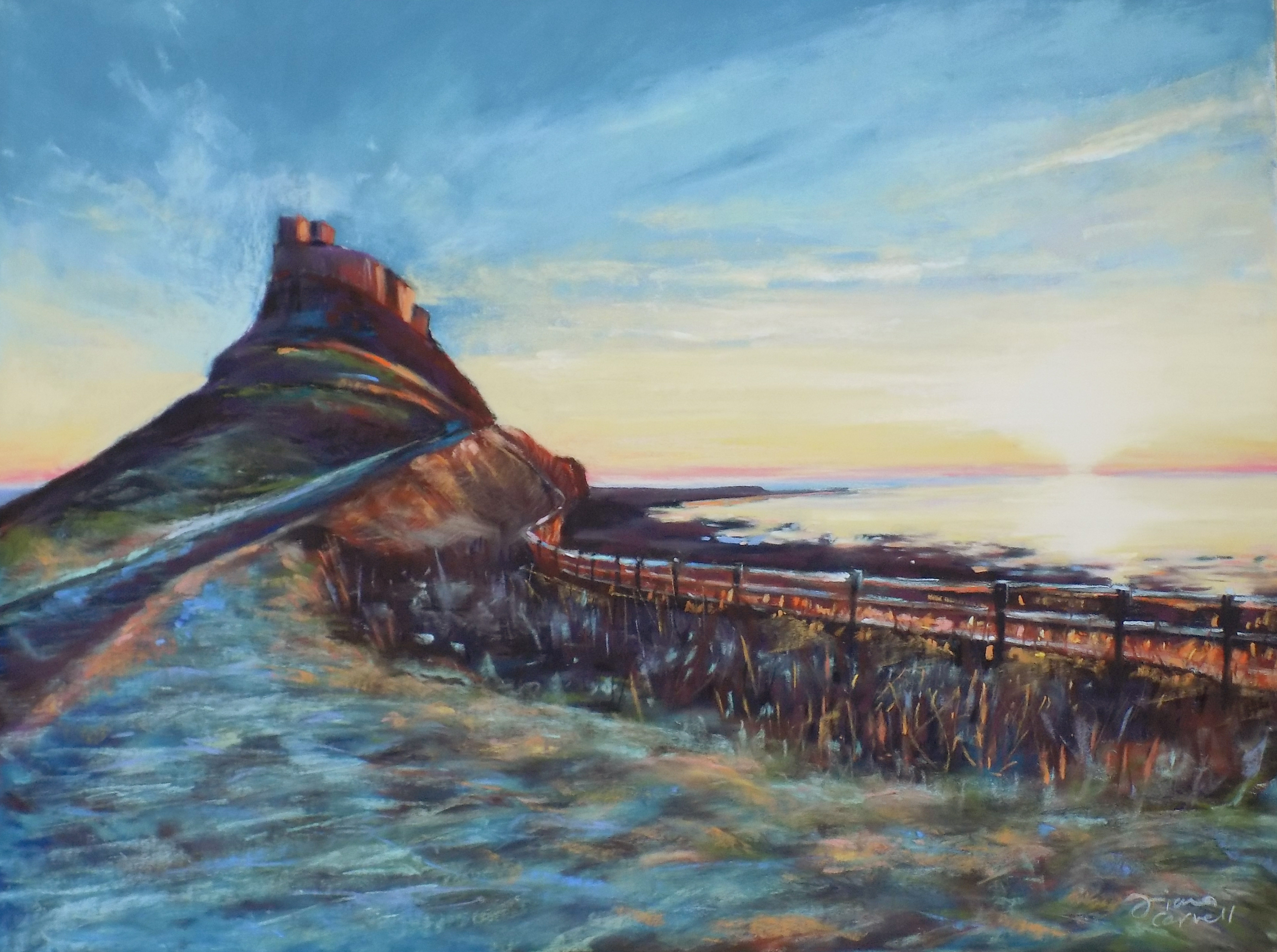 Lindisfarne by Fiona Carvell