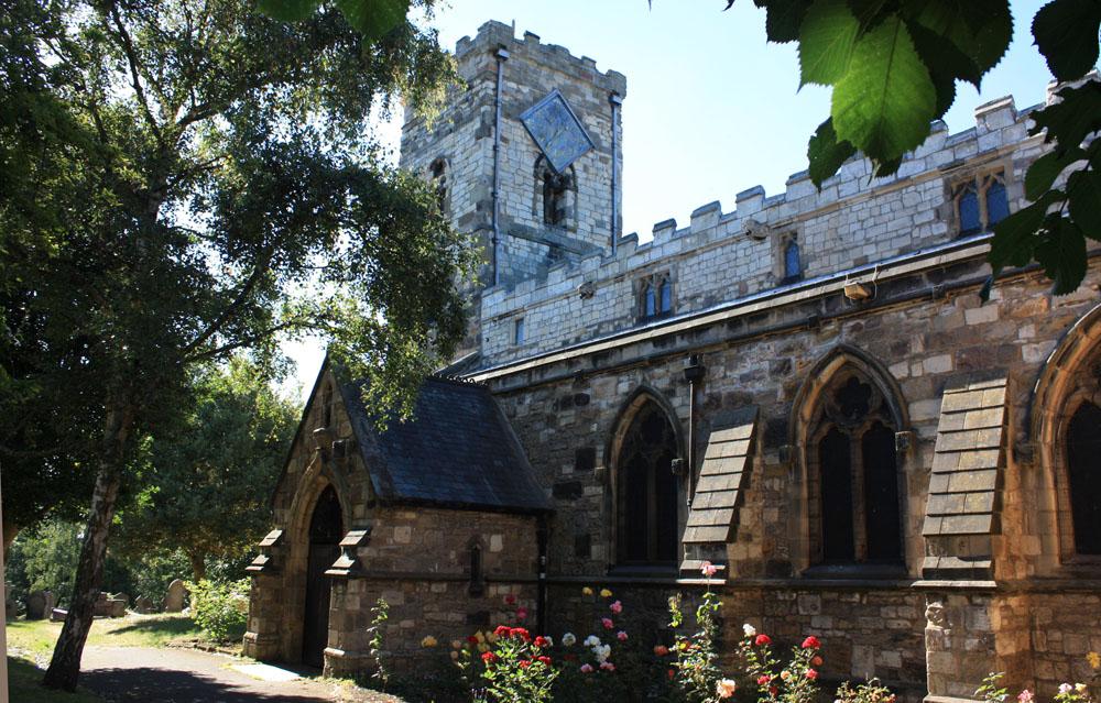 Saxon church of St Cuthbert, Billingham.