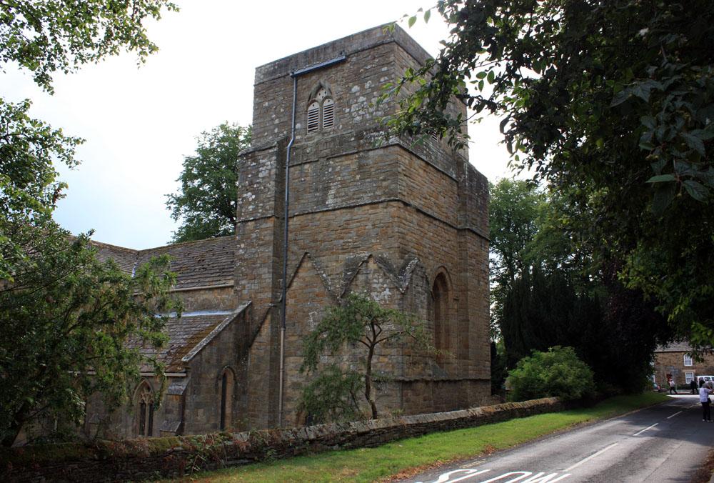 Abbey church Blanchland. Photo © David Simpson 2018