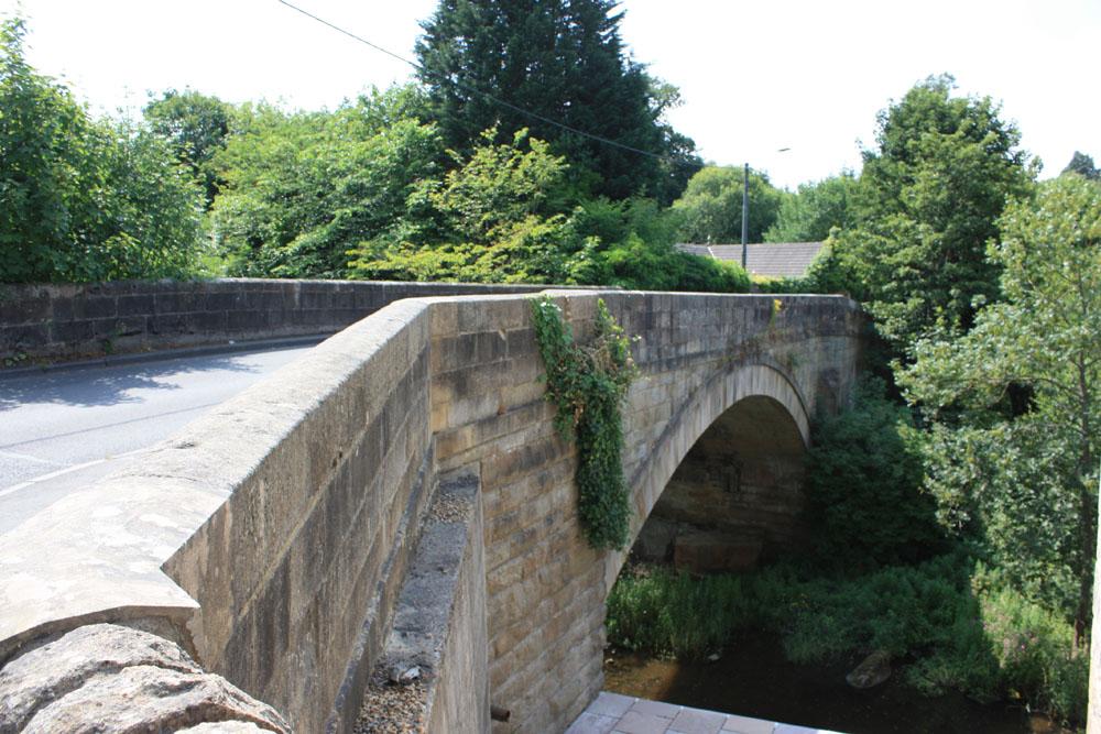 The bridge Shotley Bridge