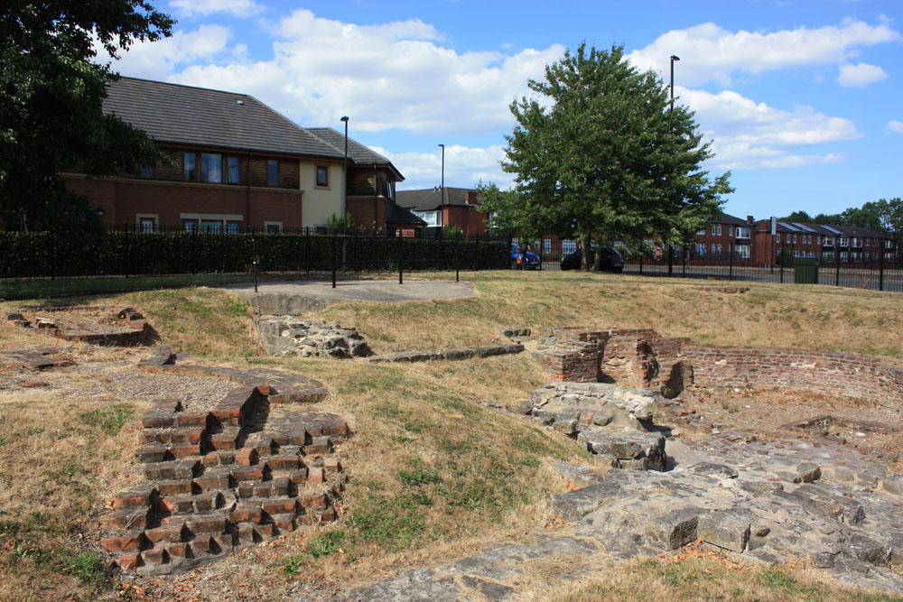 Excavated remains of Wallsend Colliery