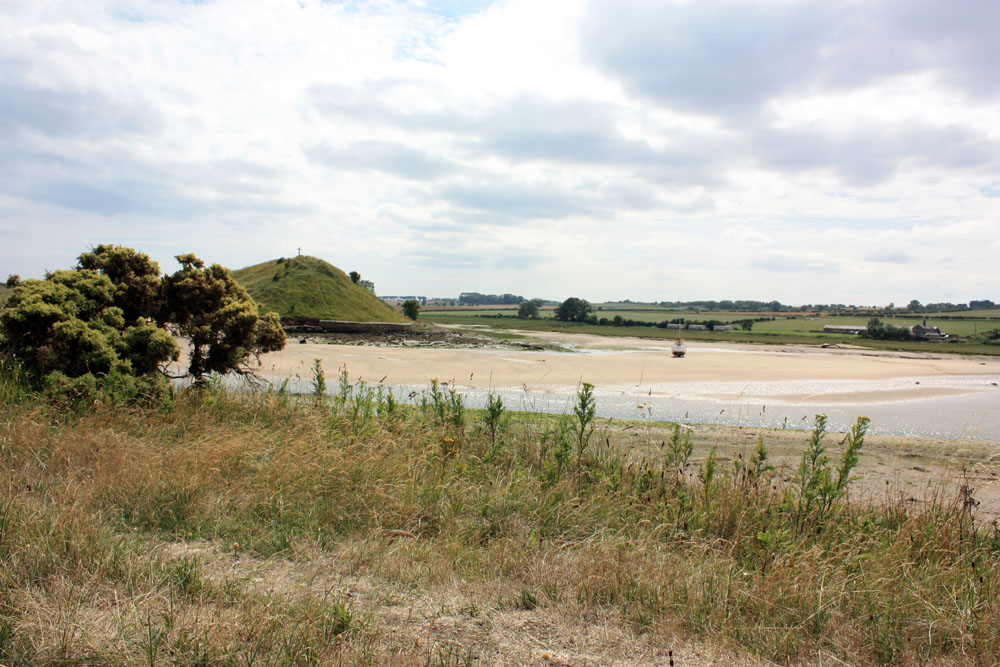 Site of the old church, Alnmouth