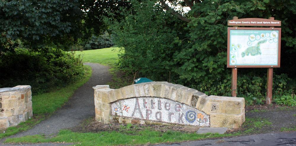 Attlee Park, Bedlington.