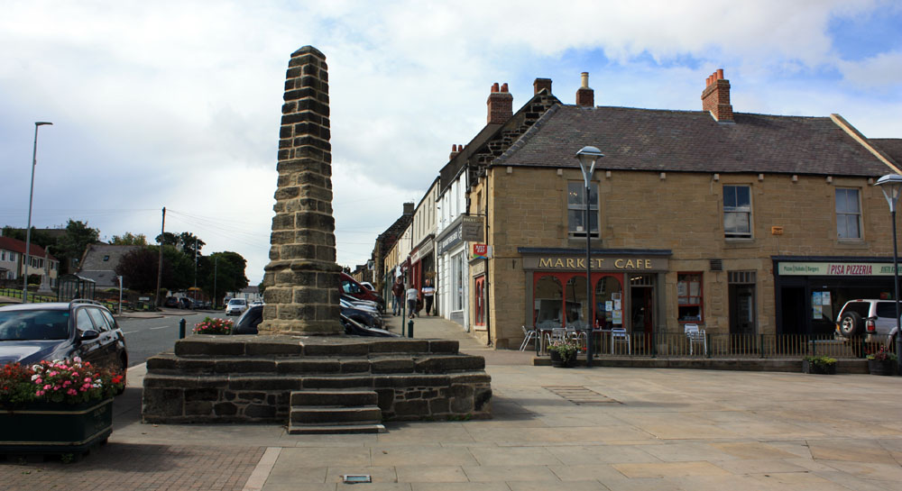 Market Cross, Bedlington