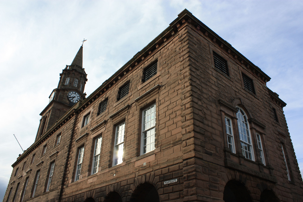 Berwick Town Hall in Marygate
