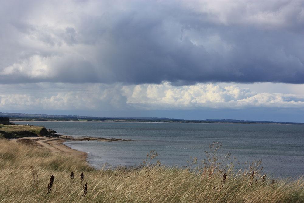 The coast near Lynemouth