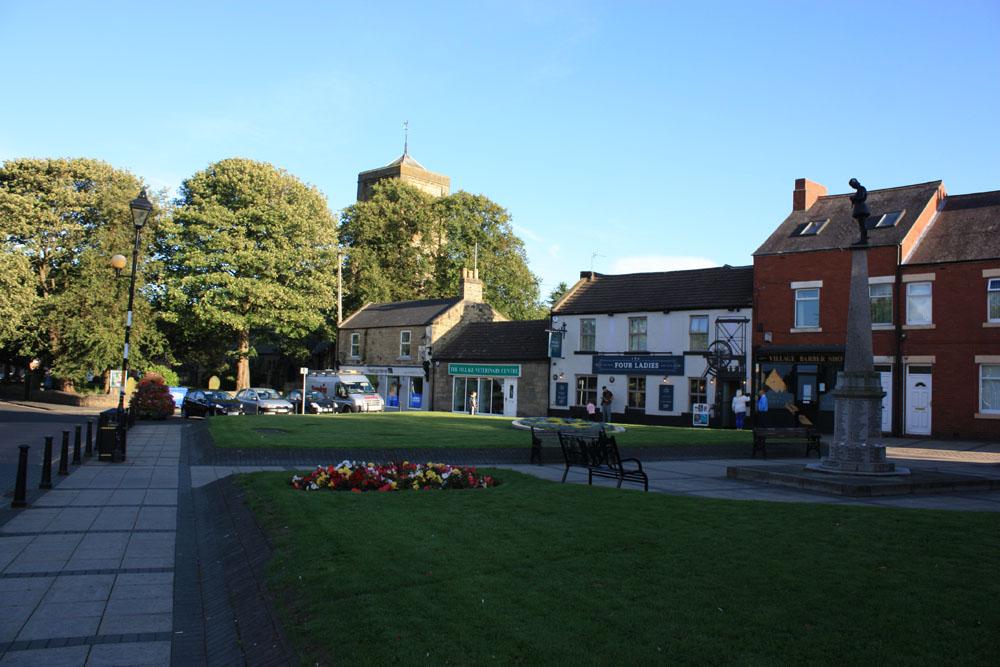 Cramlington village.