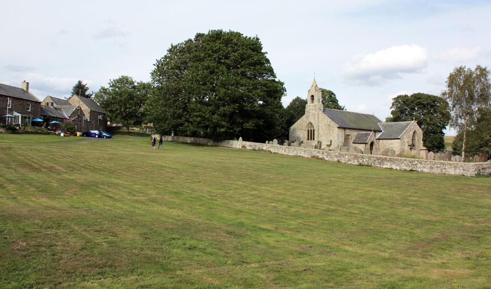 Elsdon church