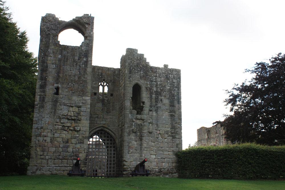 Etal Castle.