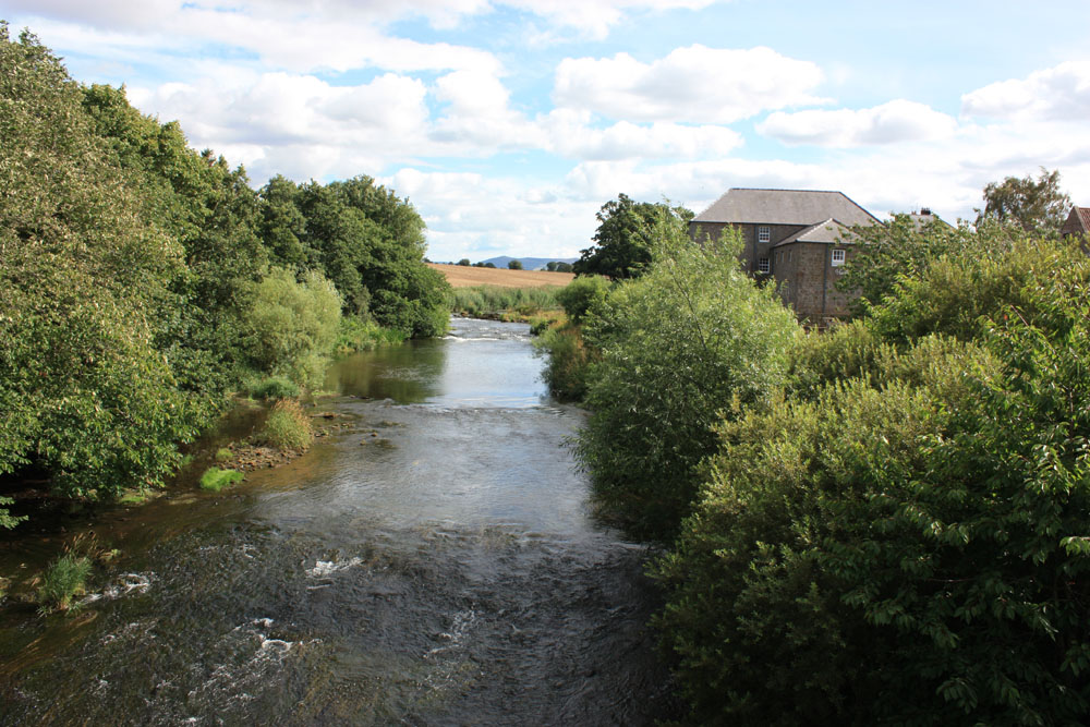 The River till at Heatherslaw