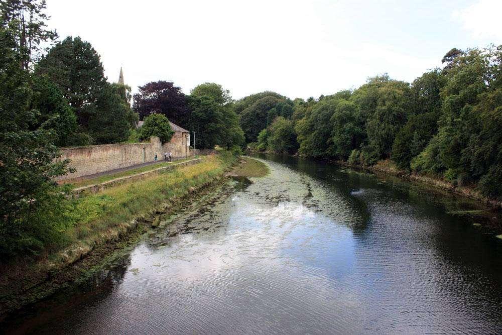 River Coquet at Warkworth