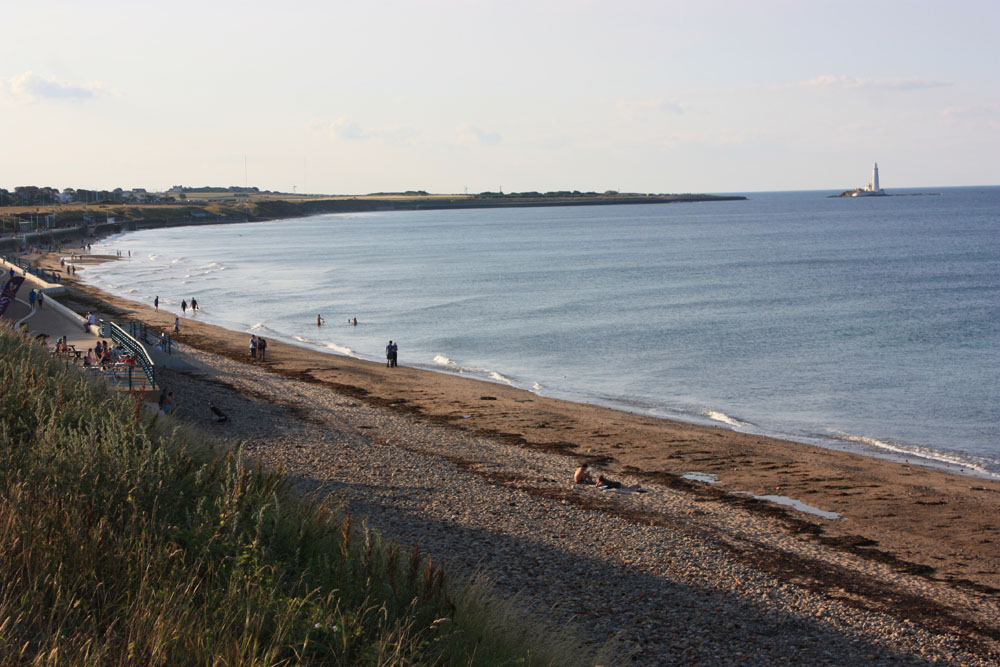 Whitley Sands, Whitley Bay.