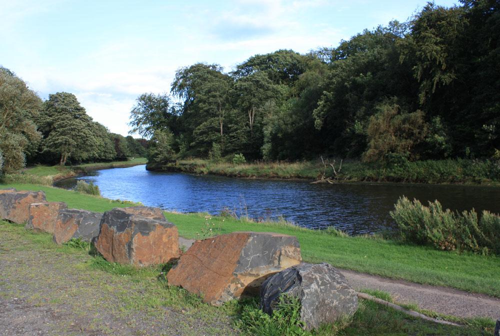 River Wansbeck near Sheepwash, Ashington.