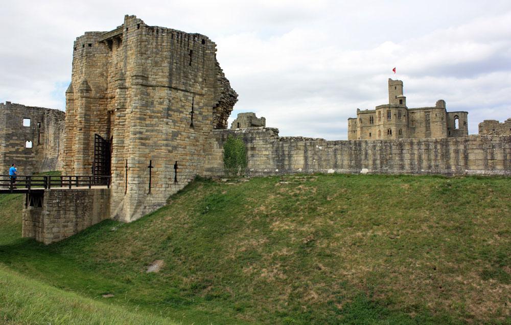 Warkworth Castle moat