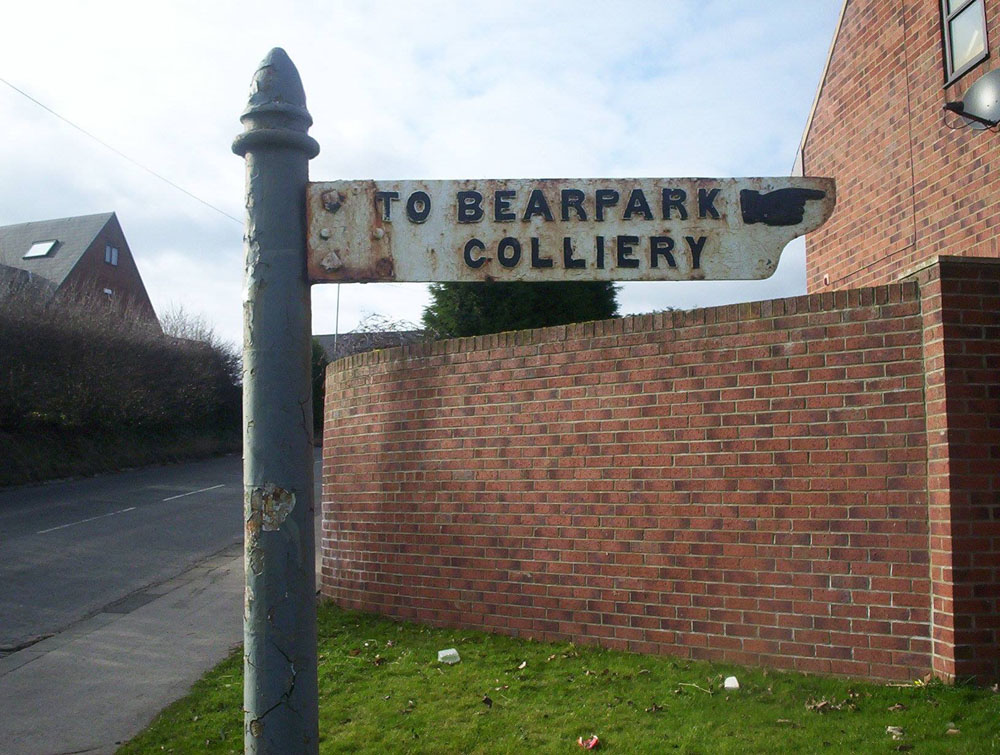 Bearpark Colliery.