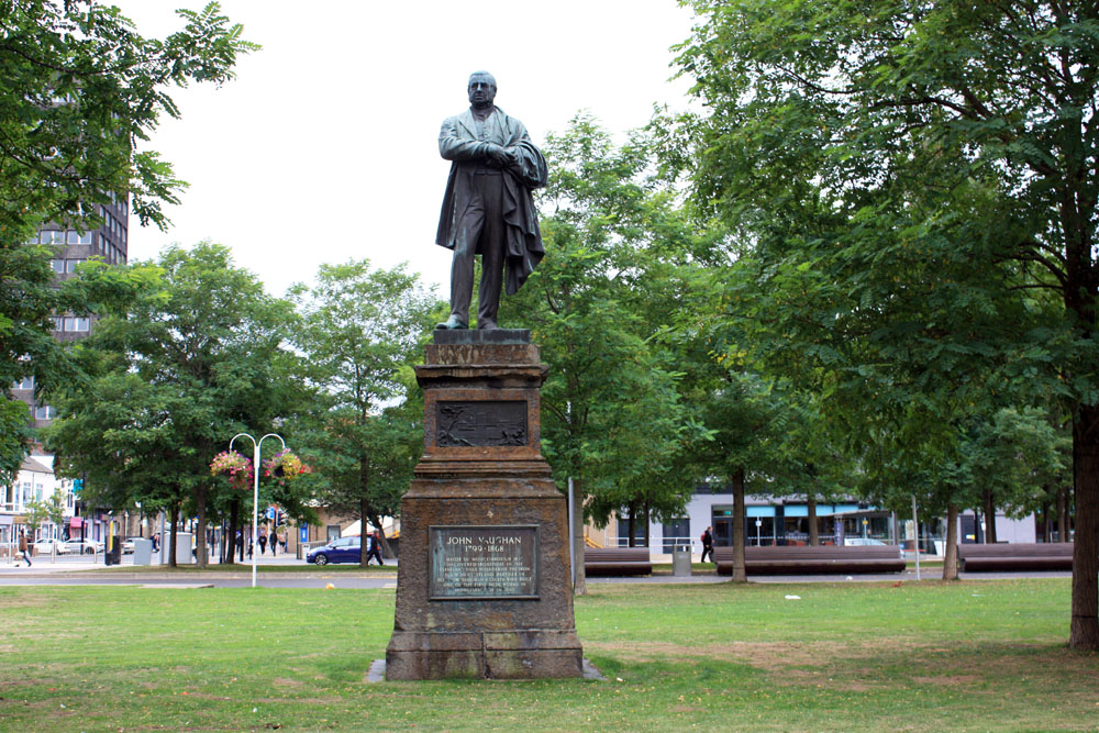 Statue of John Vaughan near Middlesbrough