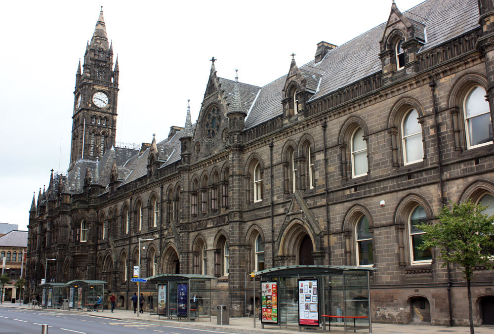 Middlesbrough Town Hall.