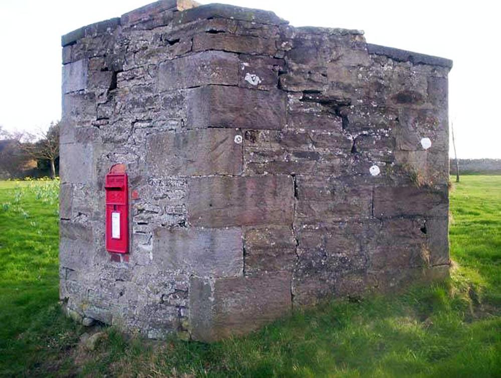 Post box Cornsay