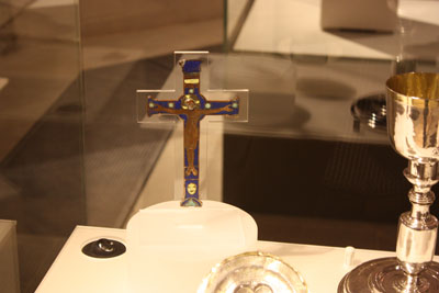 Crucifix from the site of Battle of Nevilles Cross