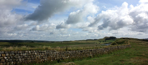 Hadrian's Wall. Photo: David Simpson