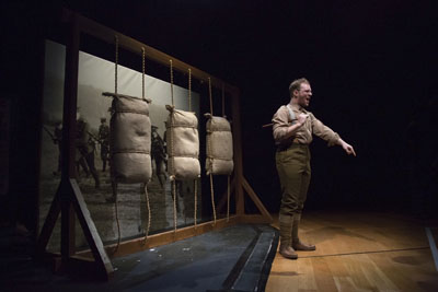 Drill Sergeant, Jack Cotton. Photo: Yvonne Zhang Studio MB