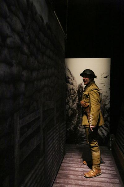 Into battle. Photo: Yvonne Zhang Studio MB