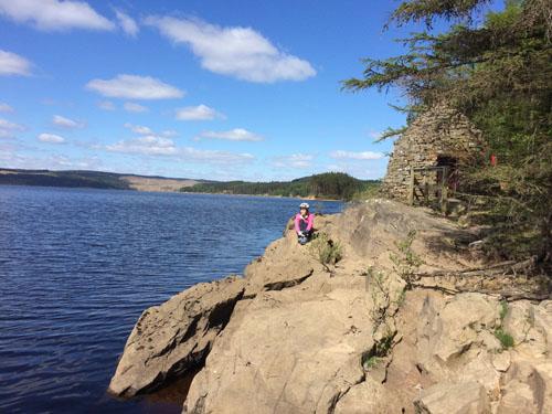 Taking a break from Lakeside Way