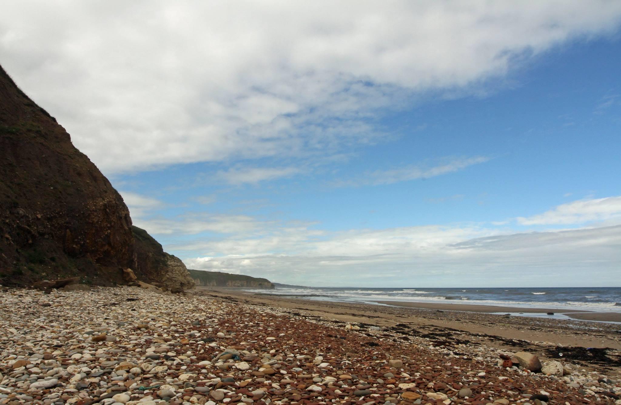 Crimdon Beach. Photo Paul White