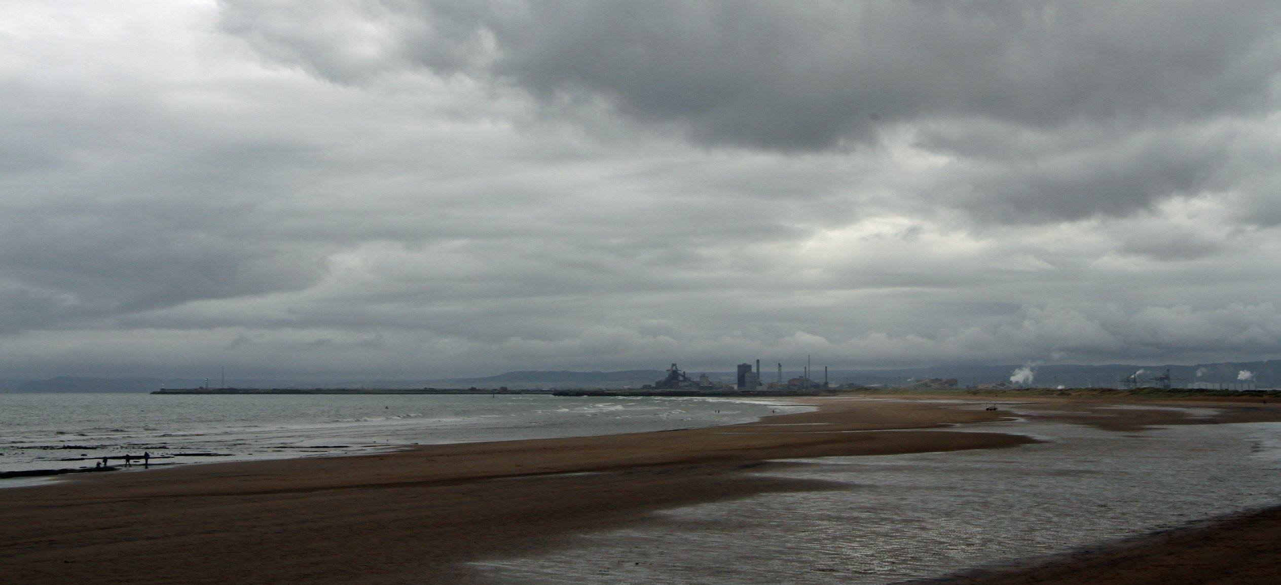 Moody Skies over Seaton Carew. Photo: Paul White