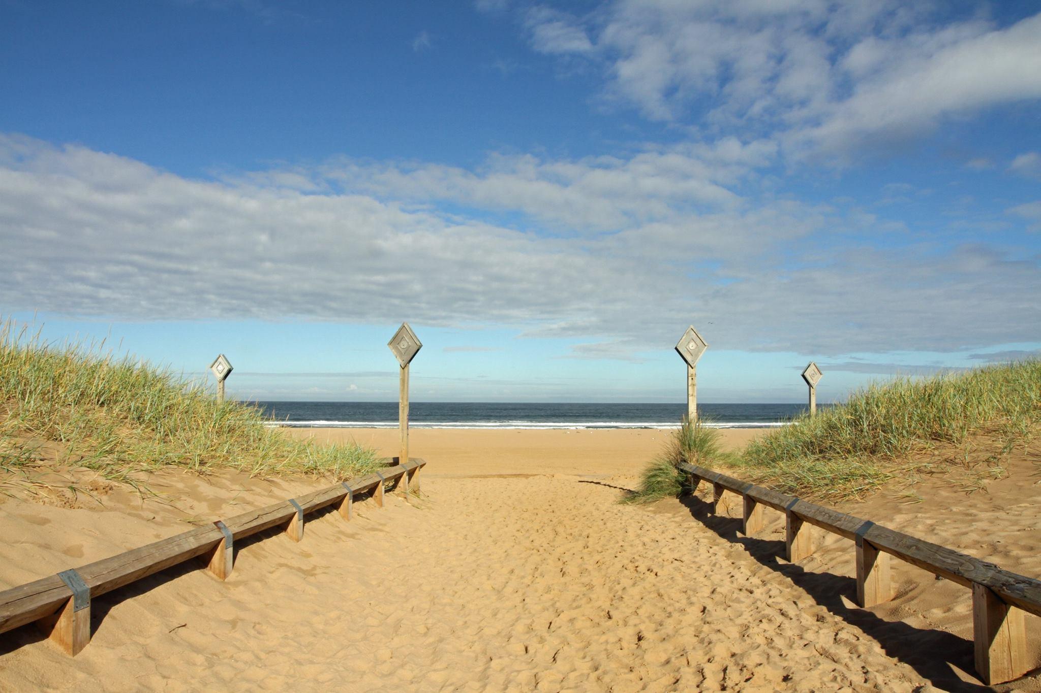 Beach at South Shields. Photo: Paul White
