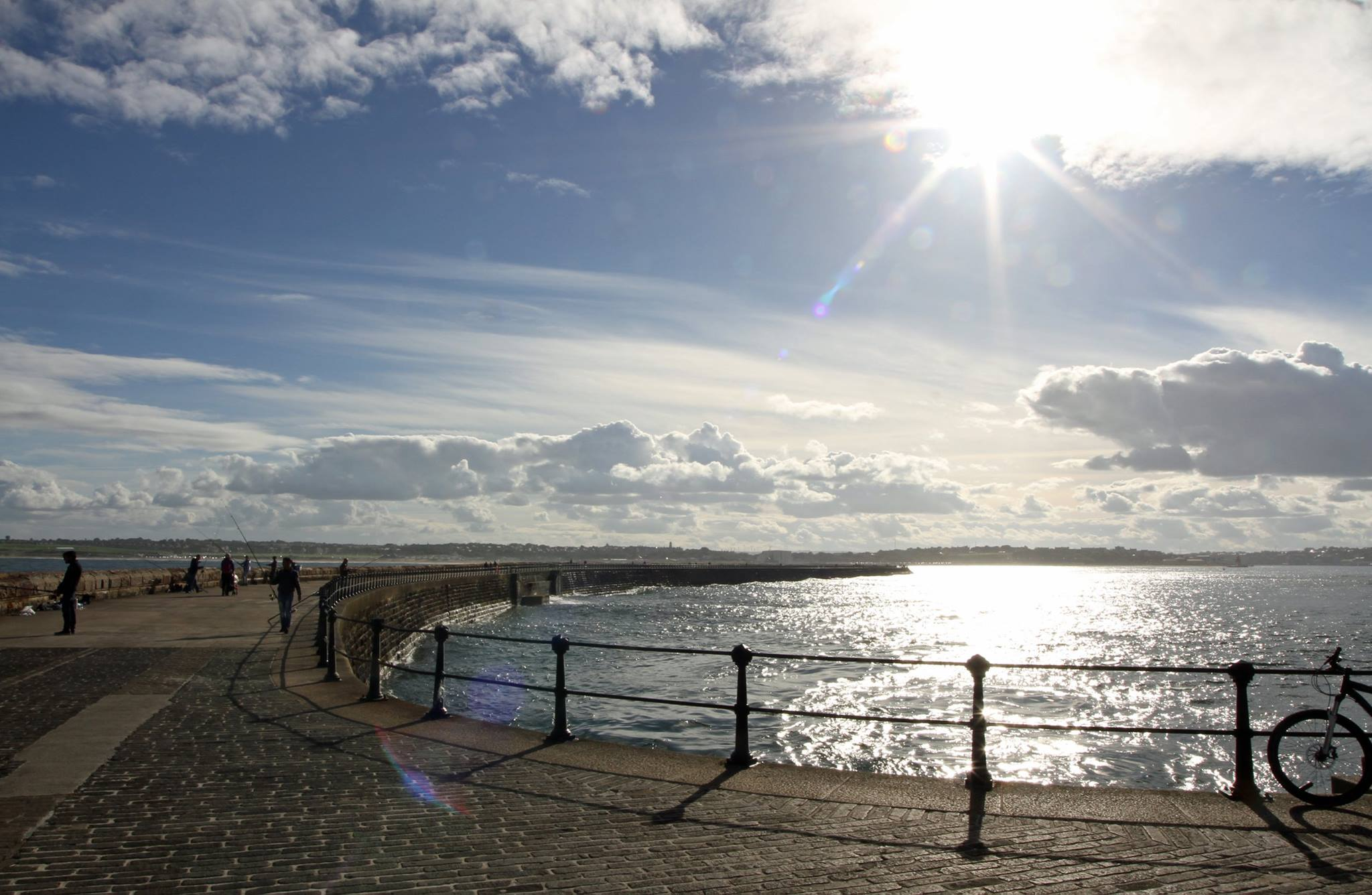 South Shields pier. Photo: Paul White