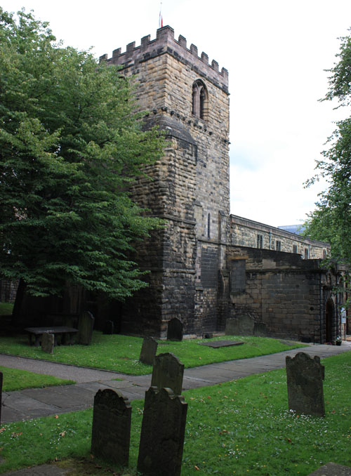 St Andrew's church, Gallowgate was the venue for Mary Ann's bigamous marriage to Frederick Cotton