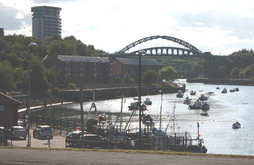 The River Wear at Sunderland. Photo: David Simpson