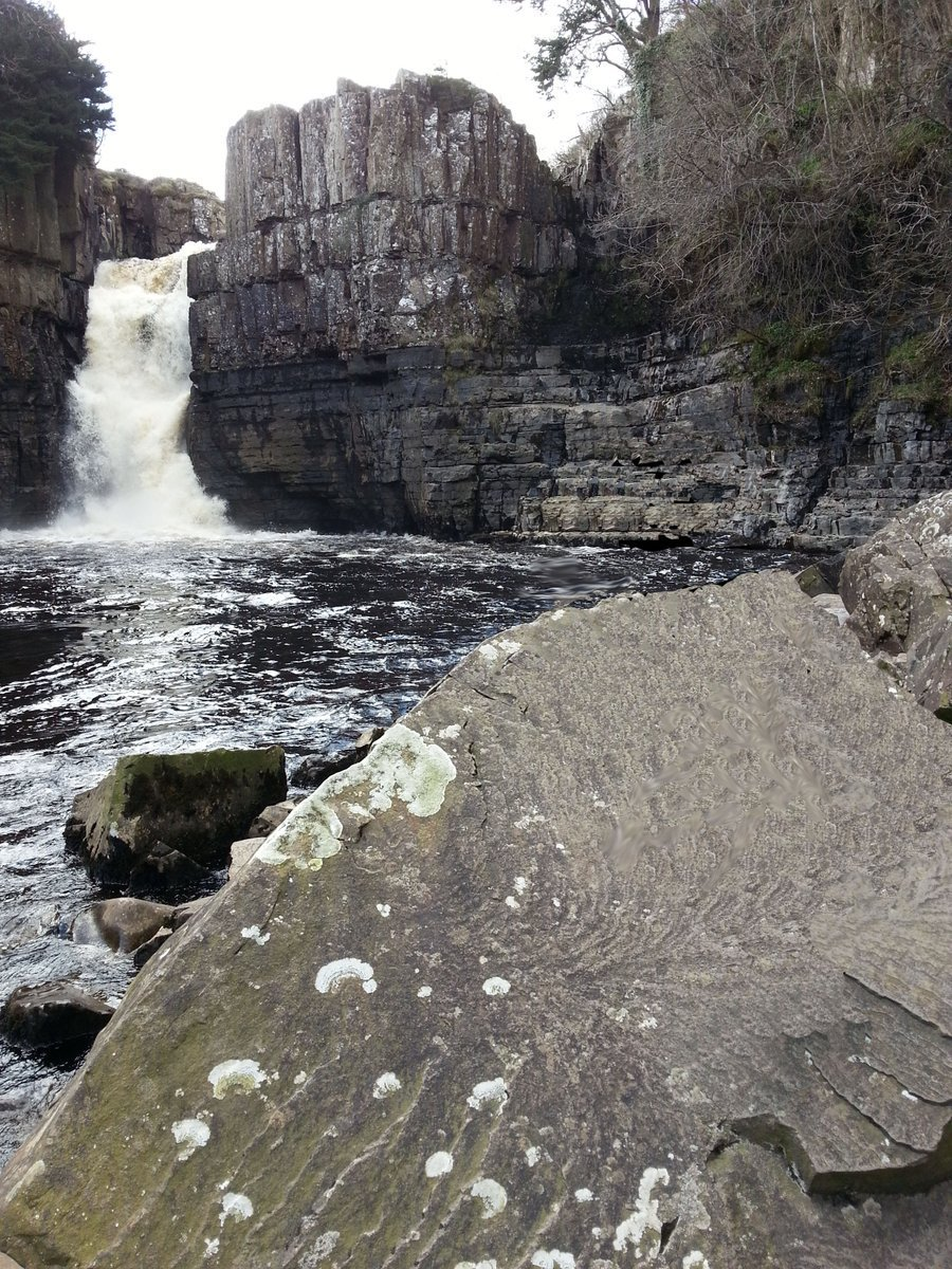 The River Tees at High Force waterfall. Photo: David Simpson