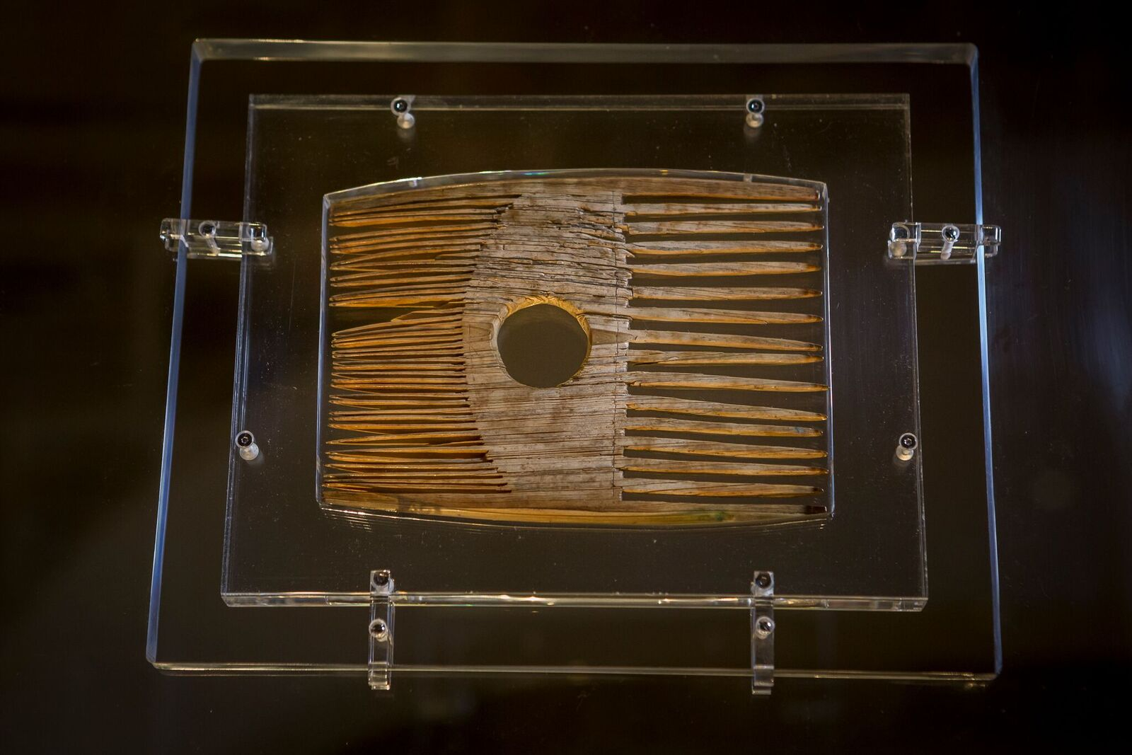Comb, thought to have belonged to St Cuthbert