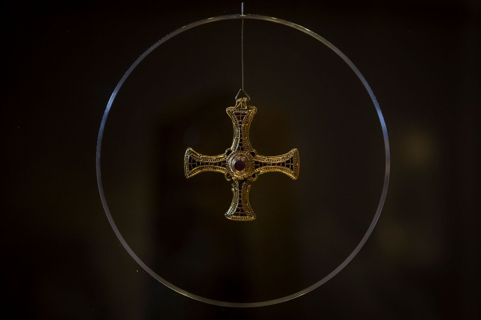 St Cuthbert's Cross: Treasures of St Cuthbert, Durham Cathedral