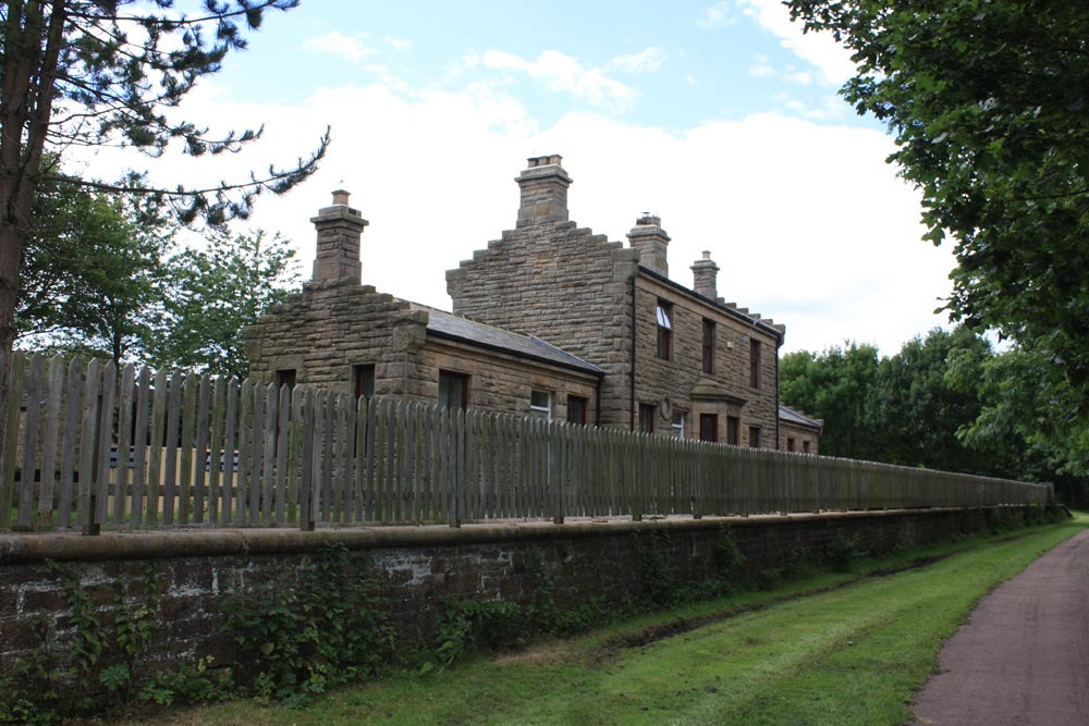 Former railway station at Lanchester in County Durham. Photo: David Simpson