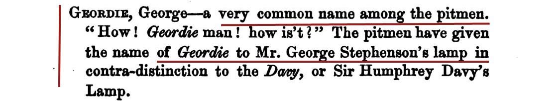 From Brockett's Glossary of North Country Words 1847