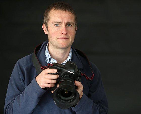 Photographer Chris Booth