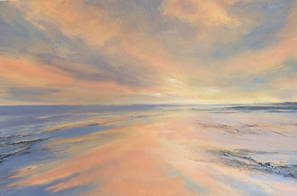 Boulmer Glory. Painted by Mick Oxley