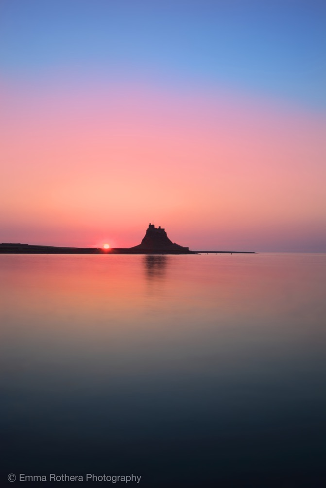 Holy Island. Photo by Emma Rothera