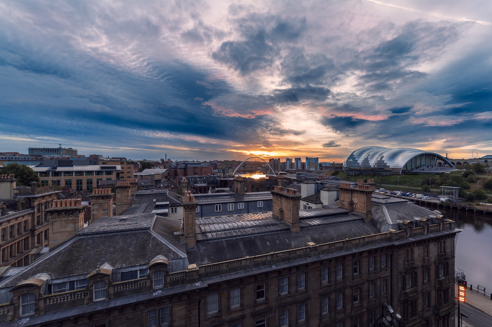 Over the Rooftops, Newcastle Quayside Photo: Lee Stoneman