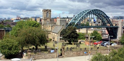 St Mary Gateshead Tyne Bridge