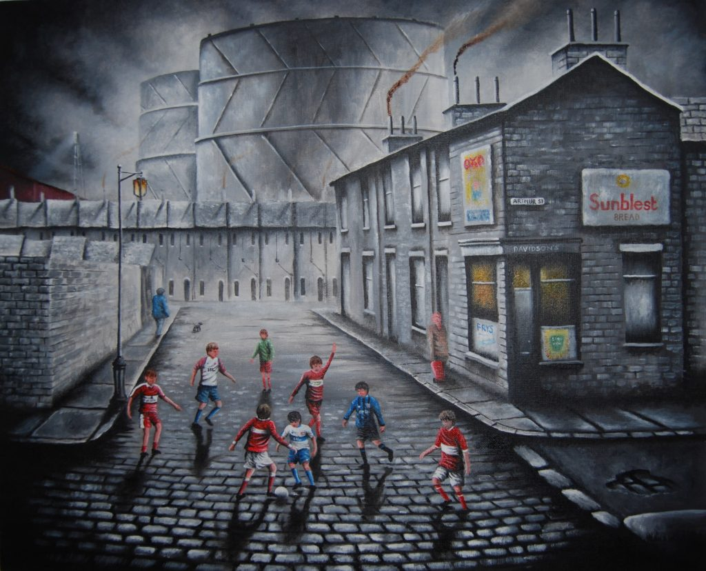 Peter Davidson 'The Gas Tank Derby'