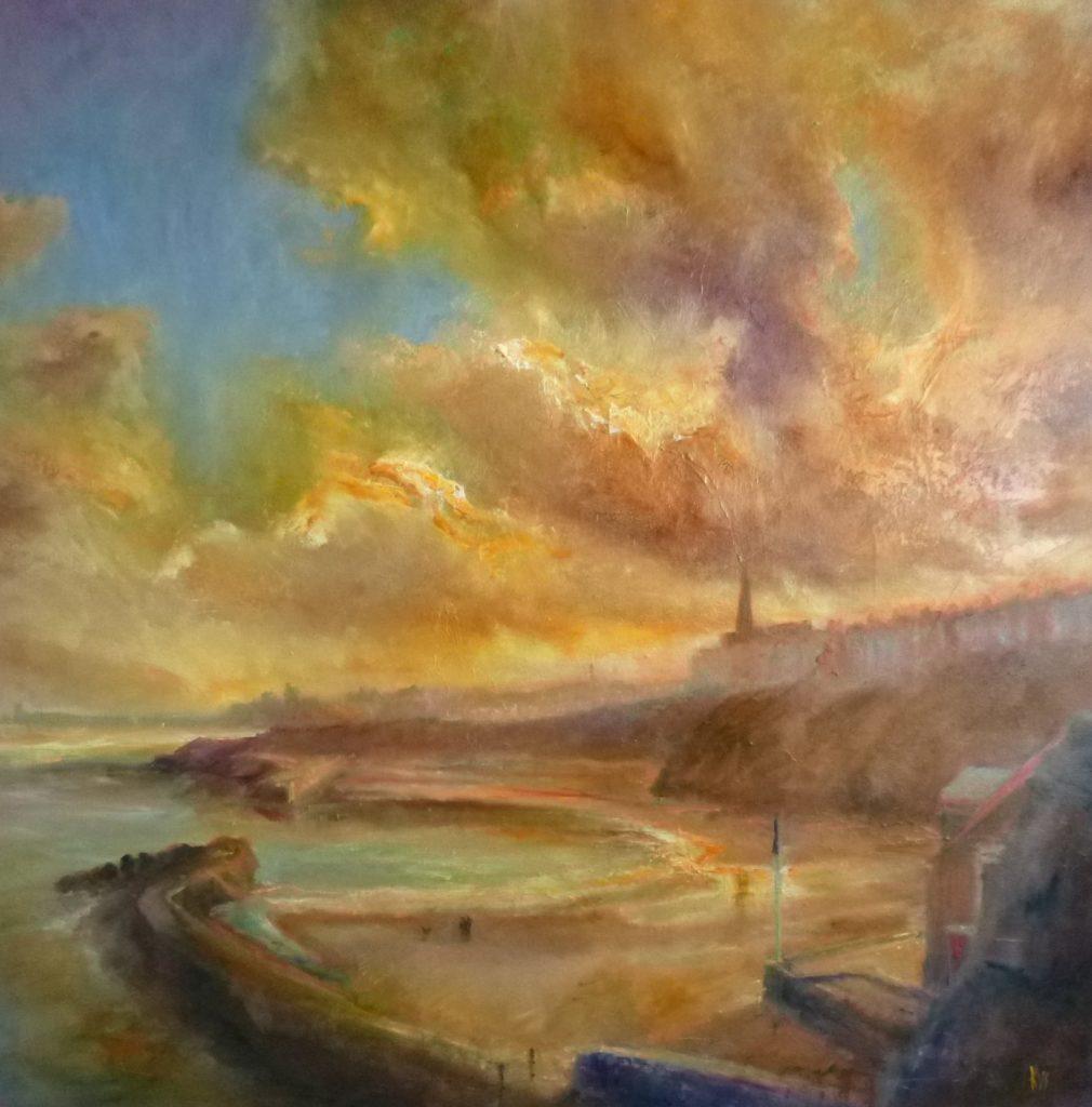 'The Sunshine Bay', Cullercoats. Kate Van Suddese.