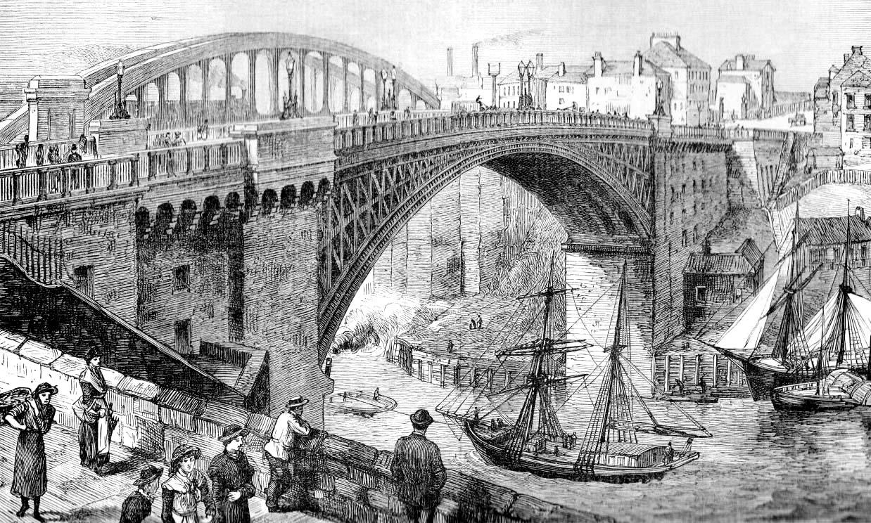 The Old Wearmouth Bridge