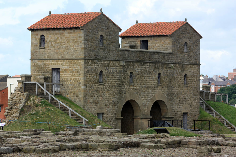 Roman gatehouse at Arbeia