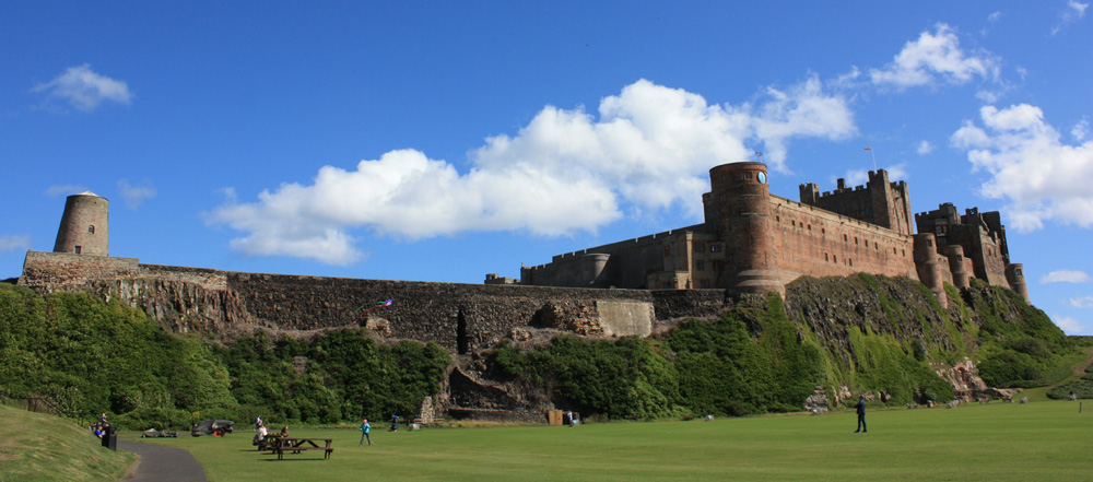 Bamburgh Castle windmill