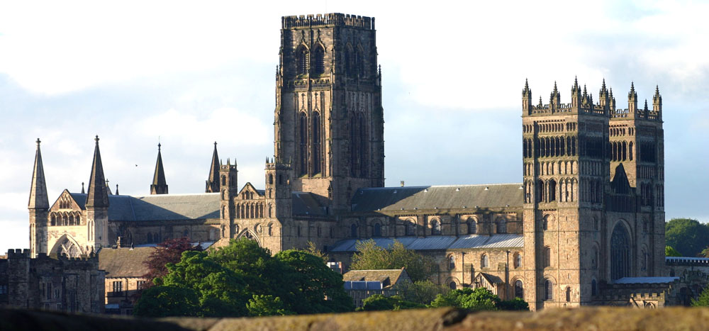 Durham Cathedral from the station.