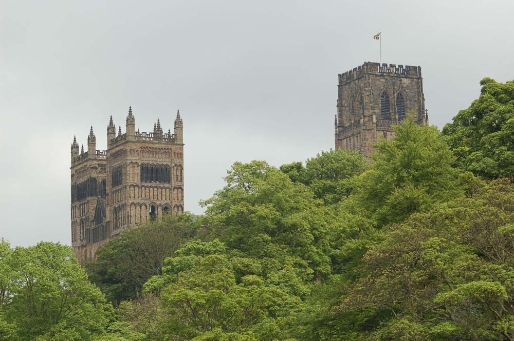 The towers of Durham Cathedral